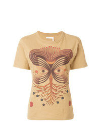 Chloé Pictoral Print T Shirt