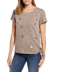Wit & Wisdom Star Side Tie Tee