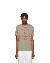 Raf Simons Taupe Xanthrophobic Slim Fit T Shirt