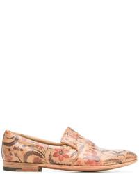 Premiata Floral Print Slippers