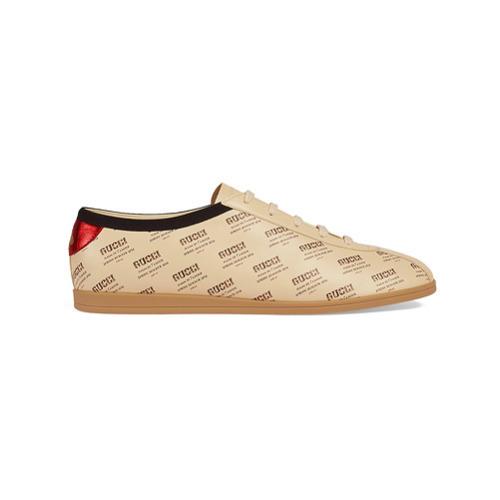 b787a79a8c1 ... Top Sneakers Gucci Falacer Invite Print Sneaker ...
