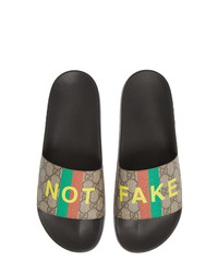 Gucci Pursuit Gg Supreme Fakenot Slide Sandal