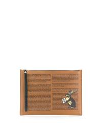 Etro Graphic Print Clutch Bag