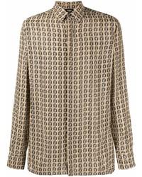 Fendi Micro Ff Pattern Shirt