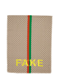 Gucci Beige Gg Not Fake Scarf
