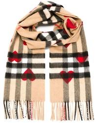 Heart print scarf medium 326341