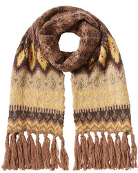 Etro Knitted Scarf With Wool And Angora
