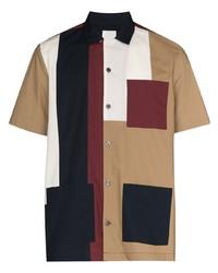Wood Wood Brandon Panelled Shirt