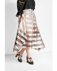 Fendi Printed Skirt With Silk