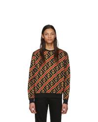 Fendi Tan Forever Sweatshirt