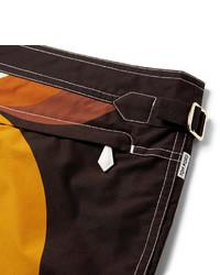 Tom Ford Mid Length Printed Swim Shorts