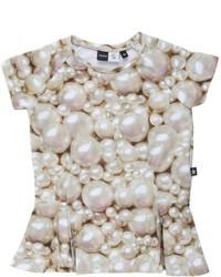 Molo Robbin Pearl Print Cotton Jersey T Shirt