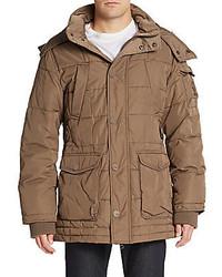 Tan Puffer Coat