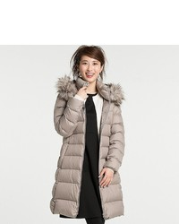 Uniqlo Lightweight Down Hooded Coat