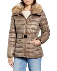 MICHAEL Michael Kors Faux Fur Puffer Jacket