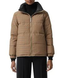 Burberry Reddich Vintage Check Reversible Down Jacket