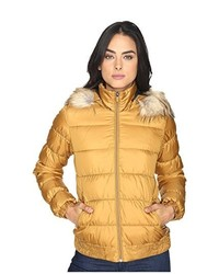 Tan Puffer Jacket