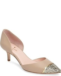 Kate Spade New York Pam Pointy Cap Toe Pump
