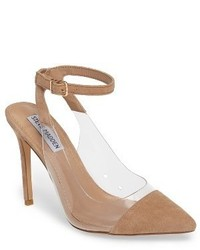 Steve Madden Wave Clear Inset Pump