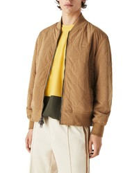 Lacoste Reversible Quilted Bomber Jacket
