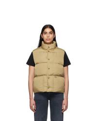 Noah NYC Khaki Cashball Puffer Vest