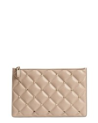 Valentino Garavani Large Candystud Leather Pouch