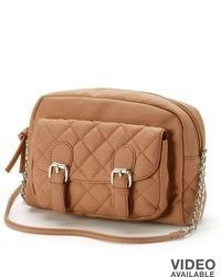 Candies Candies Quilted Crossbody Bag