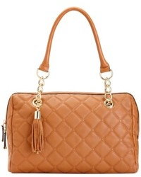 Calvin Klein Handbag Geneva Quilted Leather Satchel