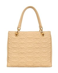 Susan Quilted Nappa Leather Top Handle