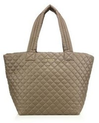 Oxford medium metro quilted nylon tote medium 809483