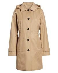 MICHAEL Michael Kors Michl Michl Kors Missy Short Single Breasted Skirted Raincoat