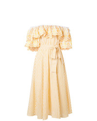 Gül Hürgel Ruffle Bardot Dress