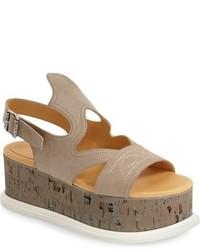 MM6 MAISON MARGIELA Western Look Platform Sandal