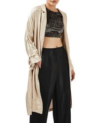 Satin duster coat medium 3662969