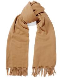 Acne Studios Canada Wool Scarf Camel