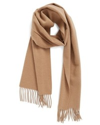 Nordstrom Solid Woven Cashmere Scarf