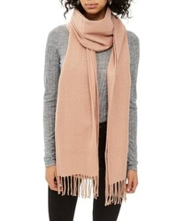 Topshop Supersoft Fringe Scarf