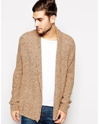 Men's Tan Cardigans by Asos | Men's Fashion