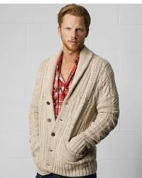 Denim & Supply Ralph Lauren Shawl Collar Cable Knit Cardigan