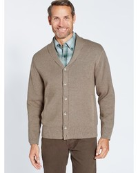 Pendleton Shawl Collar Knit Jacket