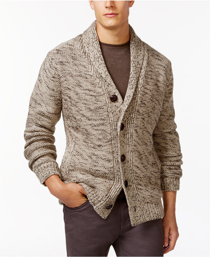 69ae4209a6e811 Weatherproof Vintage Shawl Collar Cardigan, $125 | Macy's ...