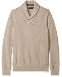 Nautica Button Shawl Collar Sweater