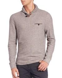 Billy Reid Shiloh Shawl Collar Sweater
