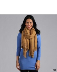 Leisureland Classic Knitted Fringe Scarf