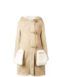 Golden Goose Deluxe Brand Hooded Shearling Coat