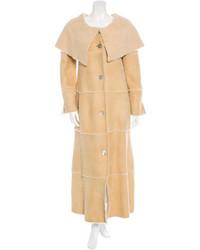 Chanel Shearling Long Coat
