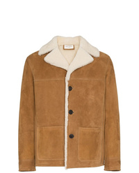 Tan Shearling Jacket
