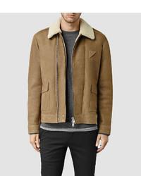 AllSaints Bedford Shearling Jacket