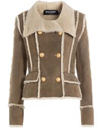 Balmain Shearling Jacket