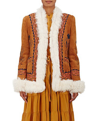 Ulla Johnson Delia Reversible Shearling Jacket